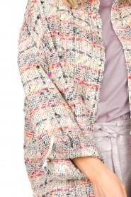 IRO |  Checkered bouclé jacket Mekkie | grey  | Picture 7