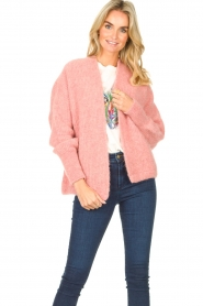 American Vintage |  Knitted sweater East | light pink  | Picture 4