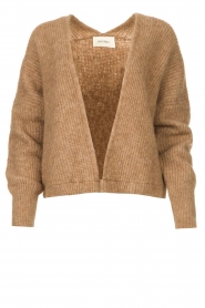 American Vintage    Knitted cardigan East   taupe    Picture 1