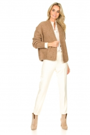 American Vintage    Knitted cardigan East   taupe    Picture 3