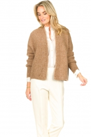 American Vintage    Knitted cardigan East   taupe    Picture 5