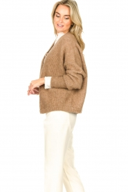 American Vintage    Knitted cardigan East   taupe    Picture 6
