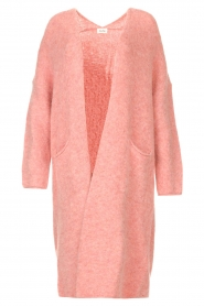 American Vintage |  Knitted oversized cardigan East | pink  | Picture 1