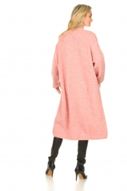 American Vintage |  Knitted oversized cardigan East | pink  | Picture 6