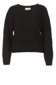 American Vintage |  Knitted sweater East | black  | Picture 1