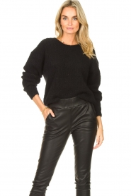 American Vintage |  Knitted sweater East | black  | Picture 2