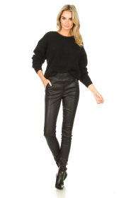 American Vintage |  Knitted sweater East | black  | Picture 3