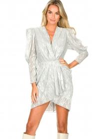 IRO |  Draped metallic dress | Daz  | Picture 4