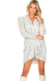 IRO |  Draped metallic dress | Daz  | Picture 5