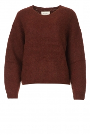 American Vintage    Knitted sweater East   bordeaux    Picture 1