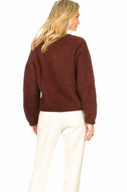 American Vintage    Knitted sweater East   bordeaux    Picture 7