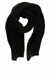 American Vintage    Knitted scarf Zabidoo   black    Picture 1