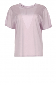 IRO |  Cotton T-shirt Sherie | lilac  | Picture 1