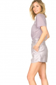 IRO |  Cotton T-shirt Sherie | lilac  | Picture 5