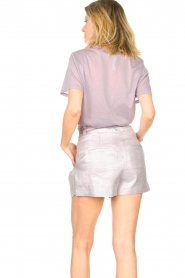 IRO |  Cotton T-shirt Sherie | lilac  | Picture 6