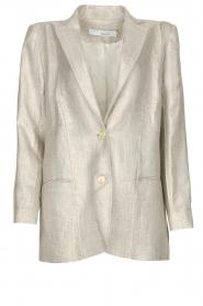 IRO |  Linen blazer Sirma | grey  | Picture 1