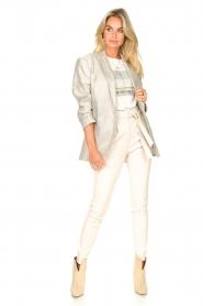IRO |  Linen blazer Sirma | grey  | Picture 4