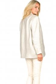 IRO |  Linen blazer Sirma | grey  | Picture 9