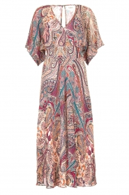 ba&sh |  Maxi dress with paisley print Bee | pink  | Picture 1