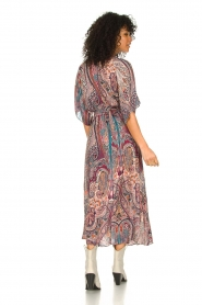 ba&sh |  Maxi dress with paisley print Bee | pink  | Picture 5