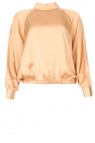 American Vintage |  Top with balloon sleeves Widland | nude  | Picture 1