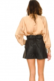 American Vintage |  Top with balloon sleeves Widland | nude  | Picture 6