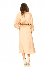 American Vintage |  Acetate midi skirt with pockets Widland | nude  | Picture 6