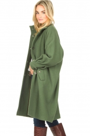 American Vintage    High collar jacket Abel   green    Picture 6