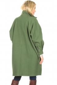 American Vintage    High collar jacket Abel   green    Picture 7