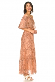 ba&sh |  Boat neck top with lurex Olga | brown  | Picture 3