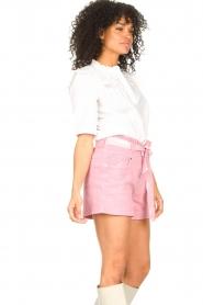 ba&sh |  Cotton sailor blouse Iseut | white  | Picture 6