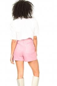 ba&sh |  Cotton sailor blouse Iseut | white  | Picture 7
