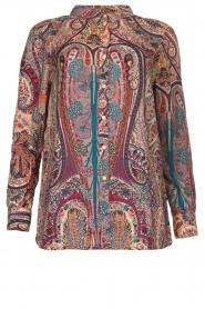ba&sh |  Paisley print blouse Blake | pink  | Picture 1