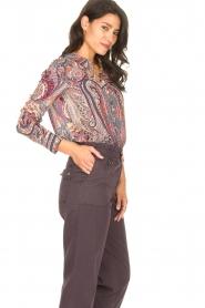 ba&sh |  Paisley print blouse Blake | pink  | Picture 5