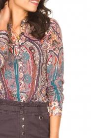 ba&sh |  Paisley print blouse Blake | pink  | Picture 7