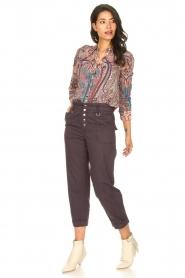 ba&sh |  Paisley print blouse Blake | pink  | Picture 3
