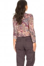 ba&sh |  Paisley print blouse Blake | pink  | Picture 6