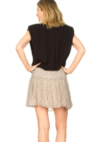 ba&sh |  Top with shoulder pads Loni | black  | Picture 7