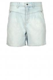ba&sh |  High waist denim shorts Josh | blue  | Picture 1
