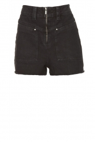 ba&sh |  Jeans short David | black  | Picture 1
