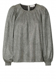 Lolly's Laundry |  Blouse Monica | silver  | Picture 1