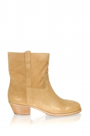 ba&sh |  Suede ankle boot Chester | beige  | Picture 1