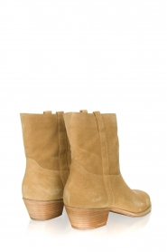 ba&sh |  Suede ankle boot Chester | beige  | Picture 3