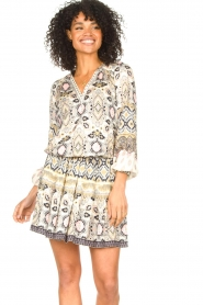 Hale Bob |  Stretch dress Oona | natural  | Picture 4