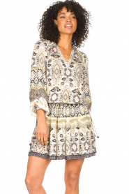 Hale Bob |  Stretch dress Oona | natural  | Picture 5