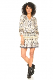 Hale Bob |  Stretch dress Oona | natural  | Picture 3