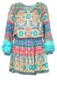 Hale Bob |  Stretch dress Oona | blue  | Picture 1