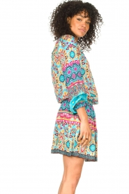 Hale Bob |  Stretch dress Oona | blue  | Picture 6