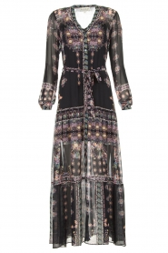 Hale Bob |  Maxi dress with print Points of view | black  | Picture 1