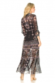 Hale Bob |  Maxi dress with print Points of view | black  | Picture 6